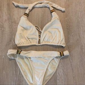 Vix Bikini Bottoms Cream - Size S